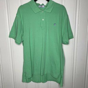 Southern Tide Green Skipjack Polo Shirt Size 40 L